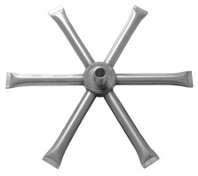 Stainless Steel Burning Spur ONLY-