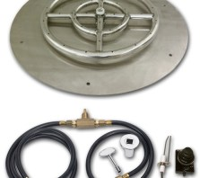 fire-boulder-fire-pits-fire-buners-fireplace-fire-burner-Round-flat-Pan-Fire-Pit-Ring-kit