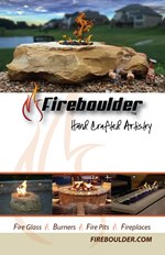 Fireboulder firepits fireplaces fire burners fire glass