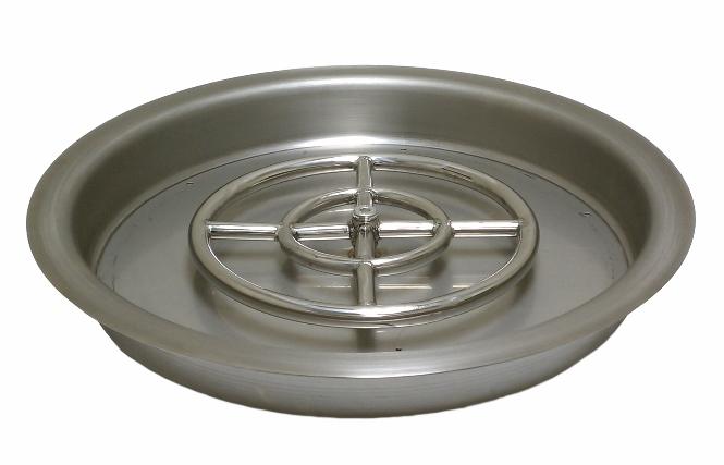 Round Drop In Pan Only Afg Fireboulder Com Natural