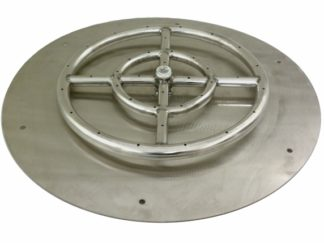 fire-boulder-fire-pits-fire-buners-fireplace-h-burner-Round-Flat-Pan-Fire-Pit-Ring