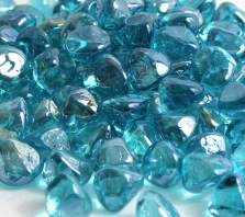powder-blue-luster-zircon-glass-fire-boulder-fire-pit-fireglass-fireplace
