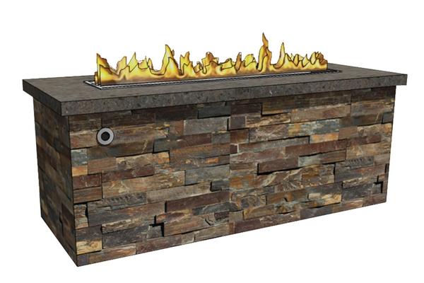 rectangle-square-firepit-enclosure-fireboulder-fire-pit-sales- - Linear Fire Pit Enclosures (RTF) – FireBoulder