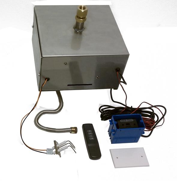 Remote Ignition Kit Firepit Installation Fireboulder Irepits