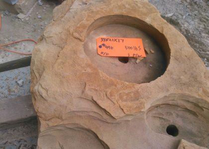 496SFW-Small Fire/Water Boulder
