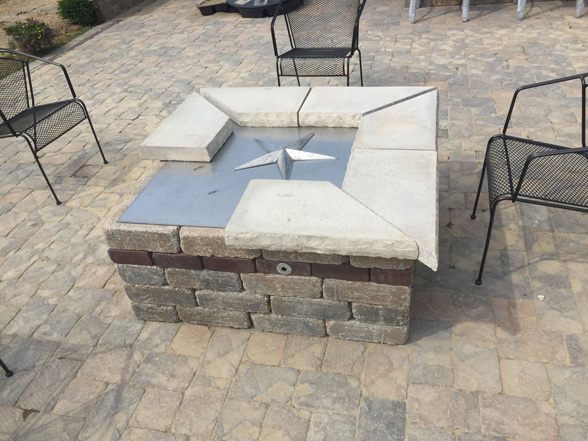 39-inch Square Fire Pit Burner Kit - 39-inch Square Fire Pit Burner Kit – Fireboulder.com Natural Stone