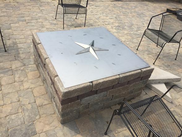 square-fire-pit-kit-burner-techo-bloc-unilock- - 39-inch Square Fire Pit Burner Kit – FireBoulder