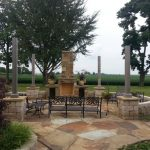 Tennesse-quarry-brown-sandstone-flagstone-outdoor-patio