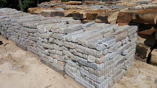 Tn Blue Edgers Tumbled Fireboulder Com Natural Stone