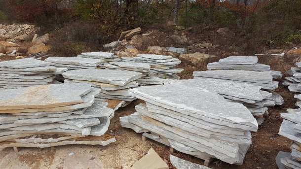 2 Tennessee Slabs Blue Fireboulder Com Natural Stone
