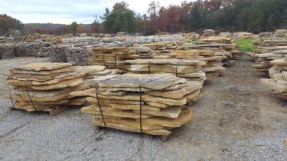 tennessee-quarry-brown-sandstone-flagstone--mega-slabs-tan-natural-stone-patio-walkway-1-5