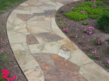 tennessee-quarry-brown-sandstone-flagstone-steppers-natural-stone-patio-walkway