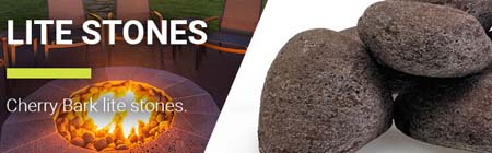 AFG-LSTONE-CB-linear_fire-rock_lite-stones_cherry-bark-lite-stones-set-15-stone-set-american-fireglass-fire-pits-fireboulder-fireplace-firepits-outdoor-living-patio-ideas