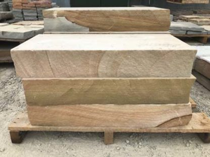 tennessee-brown-tan-sawn-3ft-steps-fireboulder-natural-stone-step-tn