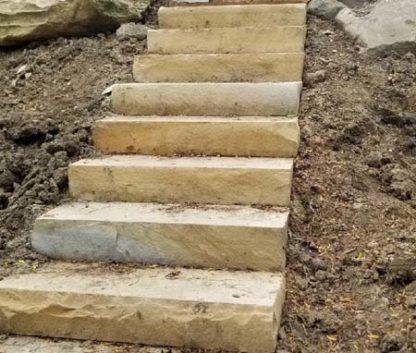 tennessee-tan-brown-sawn-3ft-steps-fireboulder-natural-stone-step-tn