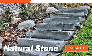 Fireboulder Natural Stone landscape outdoor living patio