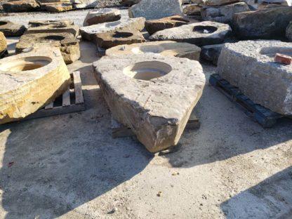 1121CXL Cored XL Fireboulder Natural Stone Fire Pit