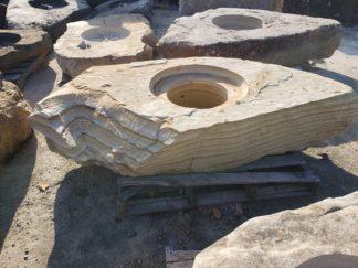 1132CXL Cored XL Fireboulder Natural Stone Fire Pit