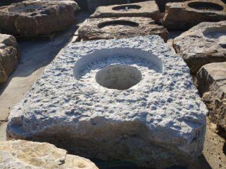 1130CXL Cored Jumbo Fireboulder Natural Stone Fire Pit