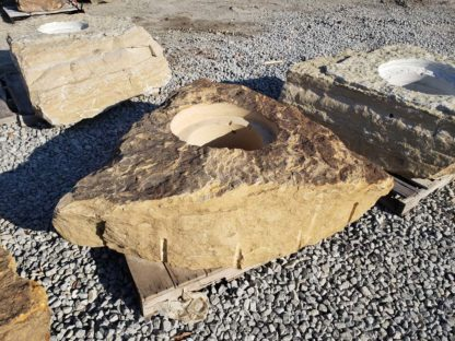 1150CXL Cored XL Fireboulder Natural Stone Fire Pit