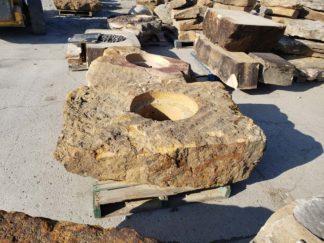 1156L Large Fireboulder Natural Stone Fireboulder