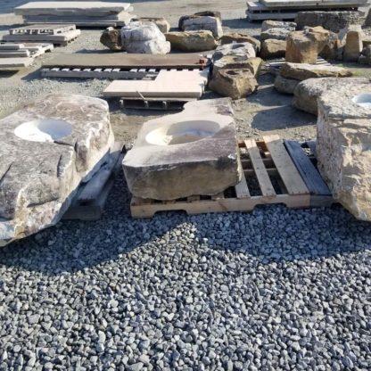 1169CXL XL Fireboulder Natural Stone Fire Pit