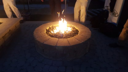 Valencia Fire Pit - Round Fire Pit Burner Kit 24- Firestar